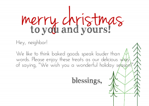 Blessingmas Card